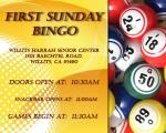 Sunday Bingo 11-6
